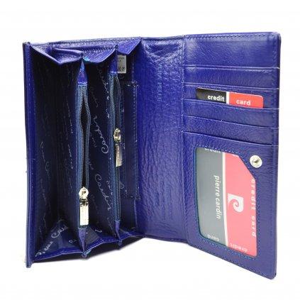 Velká kožená peněženka dámská - 6