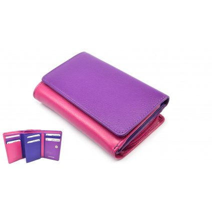 Malá peněženka barevná - 1