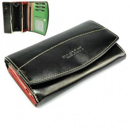 Velká peněženka dámská kožená - 1