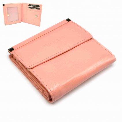Kožená dámská peněženka malá - 1