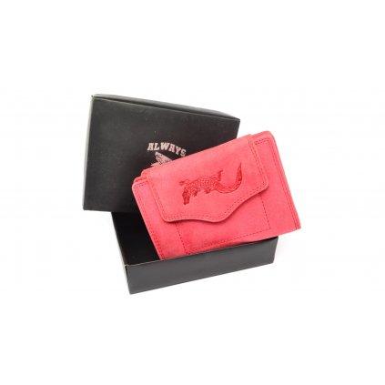 Malá peněženka růžová - 1