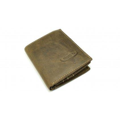 Peněženka pánská kožená dokladovka - 2