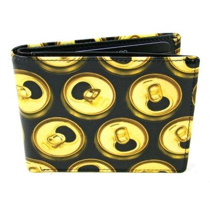 Retro kožená peněženka - 1