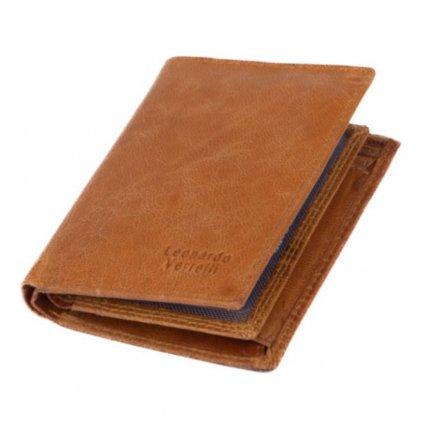 Pánská peněženka kožená světlá - 2