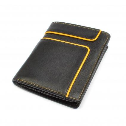 Malá kožená retro peněženka - 2