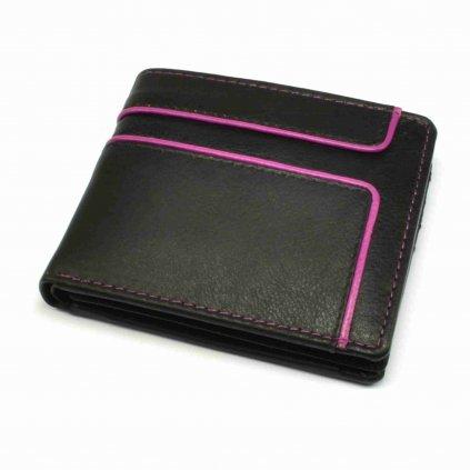 Malá retro kožená peněženka - 2