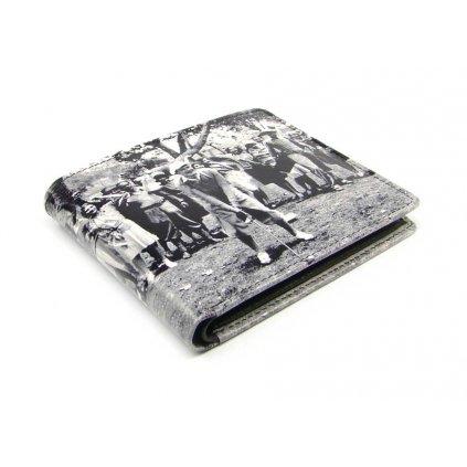 Malá peněženka retro kožená - 2