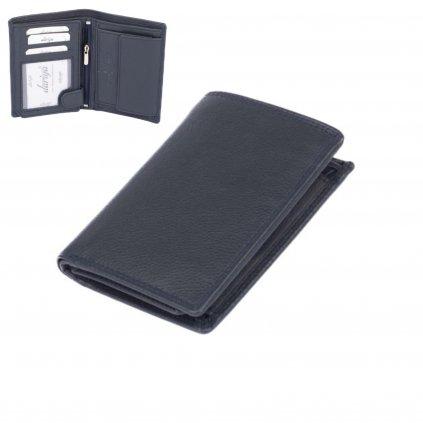Pánská peněženka kožená modrá
