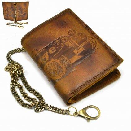 Luxusní pánská peněženka kožená - 1