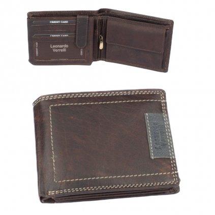 Peněženka luxusní pánská kožená - 1
