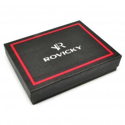Černá pánská peněženka luxusní - 1