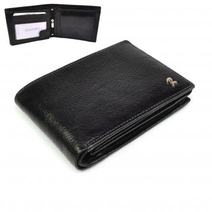 Kožená pánská peněženka moderní - 1
