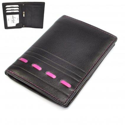 Kožená pánská moderní peněženka - 1