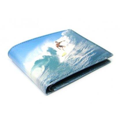 Malá peněženka kožená pánská - 1