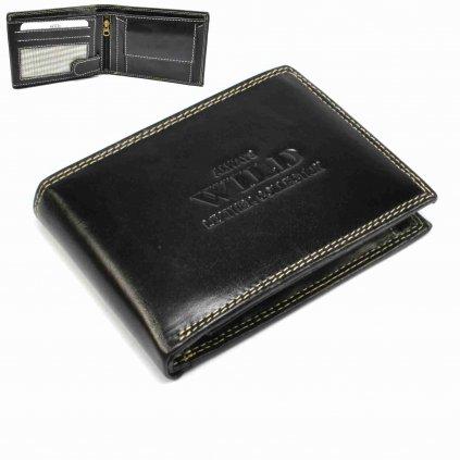 Moderní kožená peněženka pánská