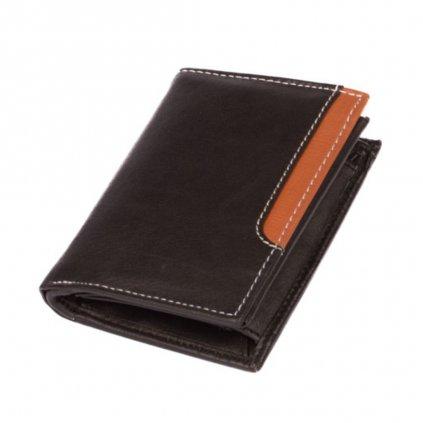 Černá peněženka kožená pánská - 2