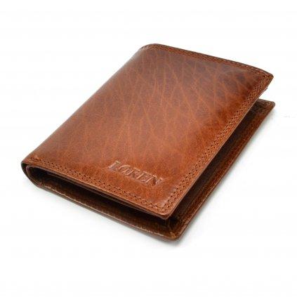 Pánská peněženka světle hnědá - 2