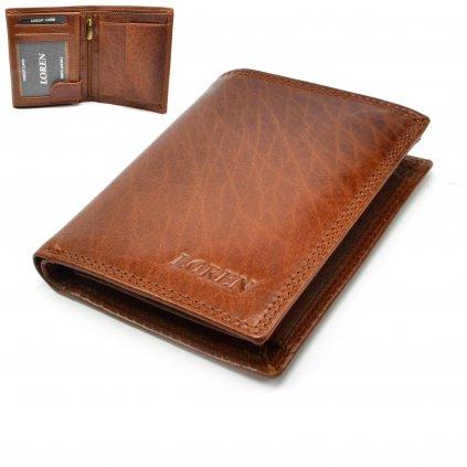 Pánská peněženka světle hnědá