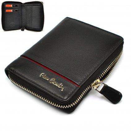 Černá pánská peněženka na zip