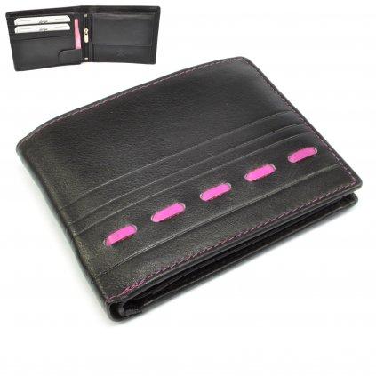 Kožená moderní pánská peněženka