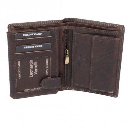 Kožená moderní peněženka pánská - 5