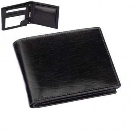 Pánská peněženka černá - 1