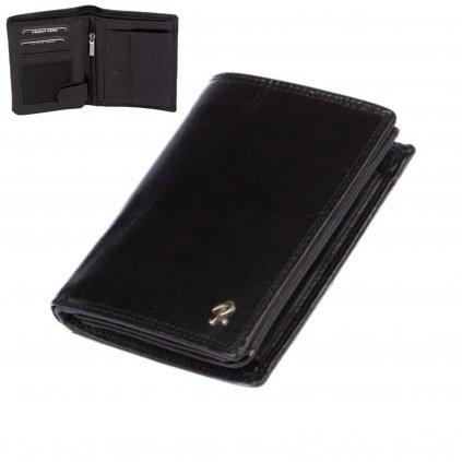 Luxusní pánská černá peněženka