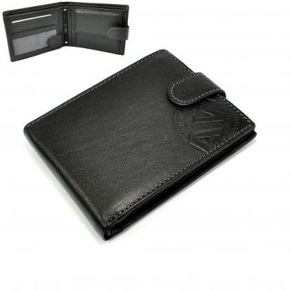 Kožená pánská peněženka s přezkou - 1