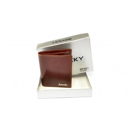 Malá pánská kožená peněženka - 1