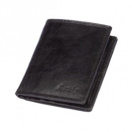 Pánská peněženka malá černá - 2