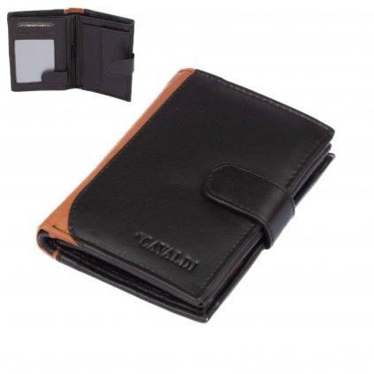Pánská kožená peněženka s přezkou - 1