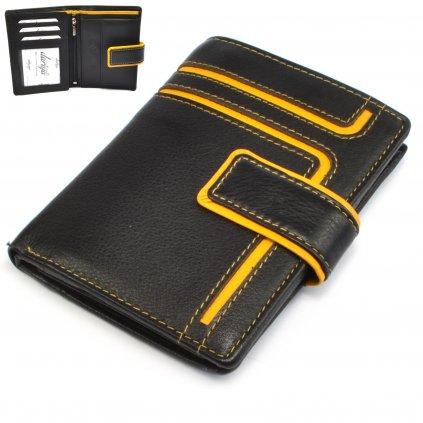 Peněženka pánská kožená s přezkou - 1
