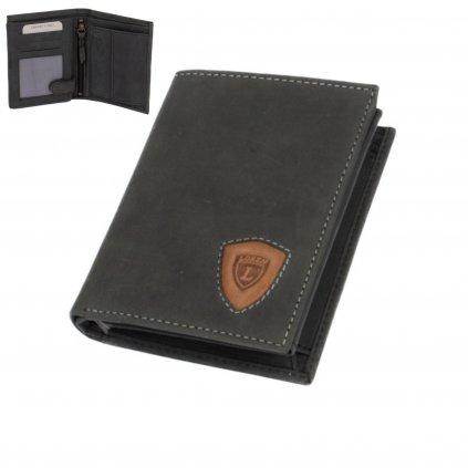 Velká kožená peněženka pánská - 1