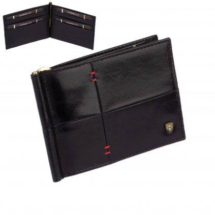 Luxusní dolarovka kožená pánská - 1