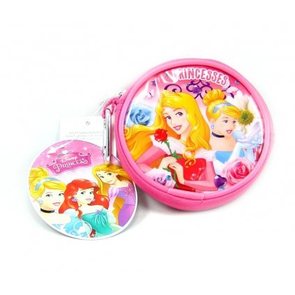 Dívčí kulatá peněženka Princess - 1