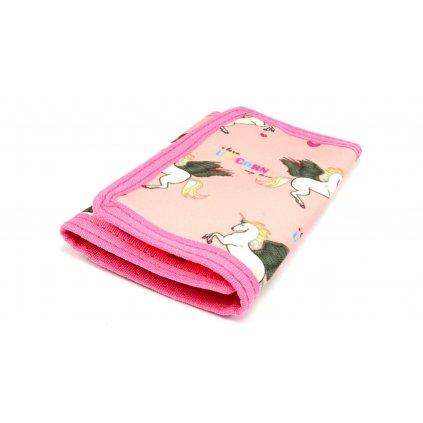 Dětská peněženka růžová - 1
