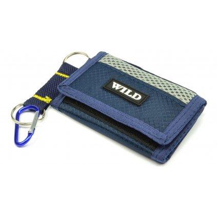 Sportovní peněženka modrá - 1