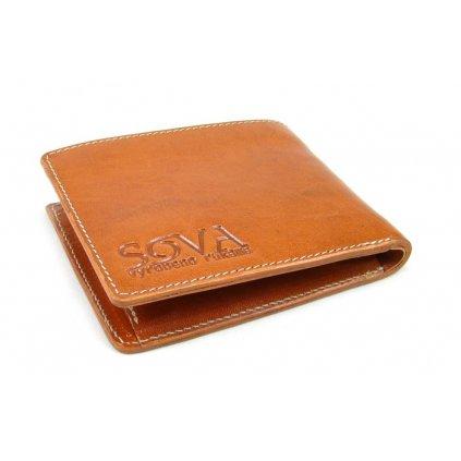 Pánská peněženka kožená TRE pro leváky Cognac - 2
