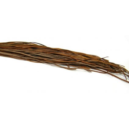 Kožený řemínek hnědý 5 ks - 1