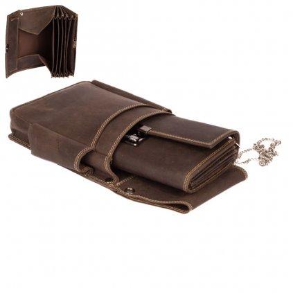 Číšnická kasírka s kapsou a řetízkem