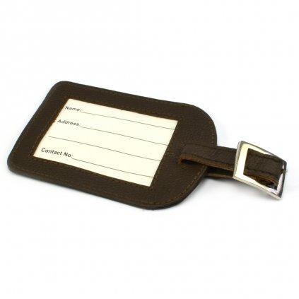 Visačka na kufr kožená - 1