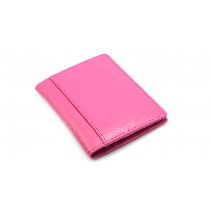 Pouzdro na karty růžové - 2