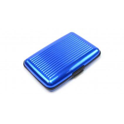 Pouzdro na vizitky, kreditní karty modré - 2