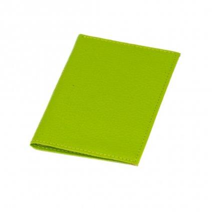 Pouzdro na karty nebo vizitky zelené - 3