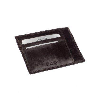 Kožené luxusní pouzdro na karty - 2