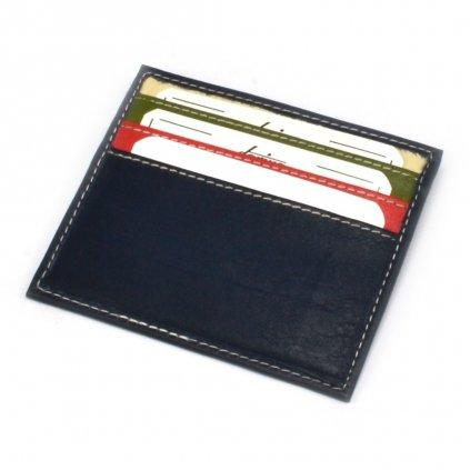 Modré pouzdro na karty - 2