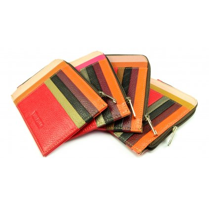 Barevné luxusní pouzdro na karty - 1