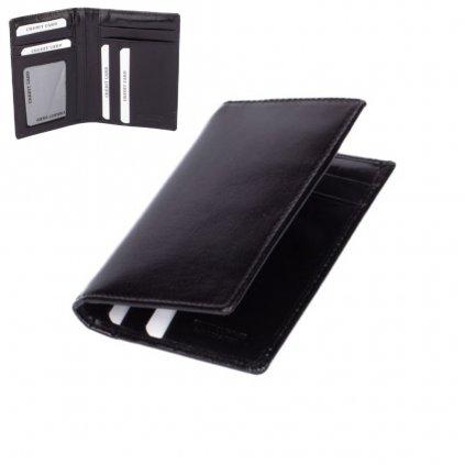 Luxusní velké kožené pouzdro na karty - 1