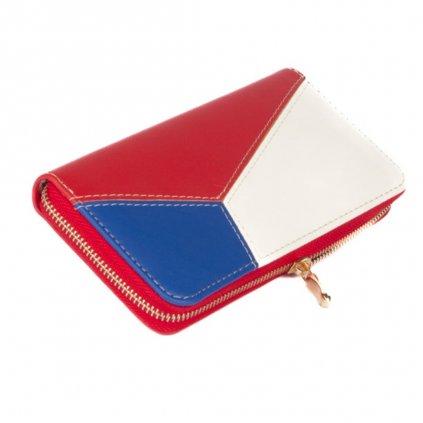 Dámská kožená peněženka s motivem vlajky - 2