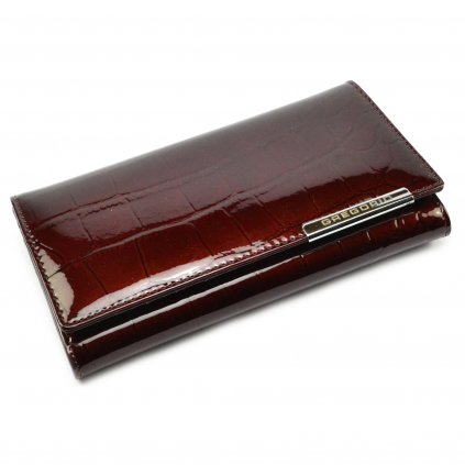 Stylová dámská peněženka hnědá - 2